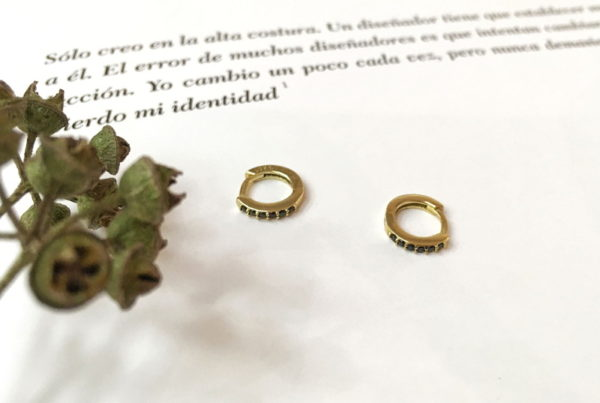 Pendientes Mini - Modelo Truffe- Laura Murcia