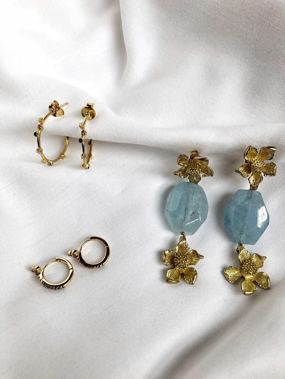 Pendientes artesanales made in Spain
