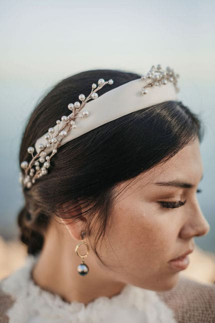 Diadema perlas cultivadas Laura Murcia