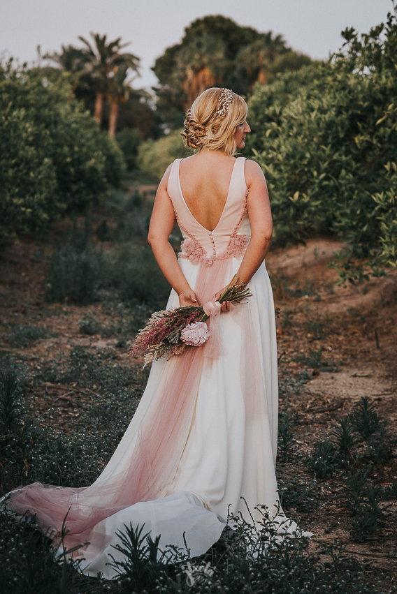 Tocado joya novia- pedientes novia- bride- wedding- headpiece- weddingplanner-Laura Murcia